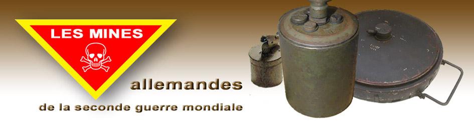 les mines antichar allemandes
